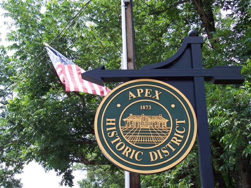 apex north carolina homes for sale